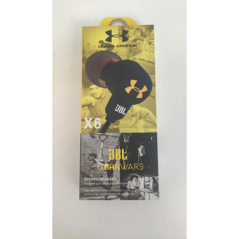 Наушники JBL X-6 +mic black