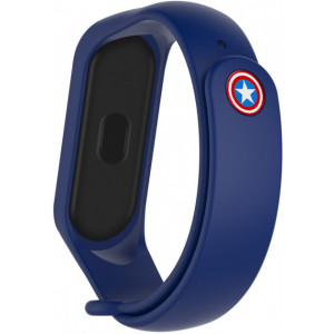 Ремешок Super Heroes Mi Band 5 captain america