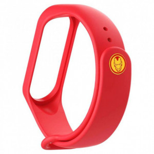 Ремешок Super Heroes Mi Band 5 iron man
