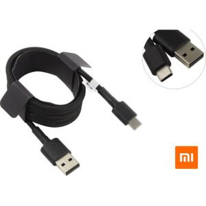 Кабель USB Type-C Xiaomi Mi Braided USB Type-C Cable 100cm black (SJV4109GL)