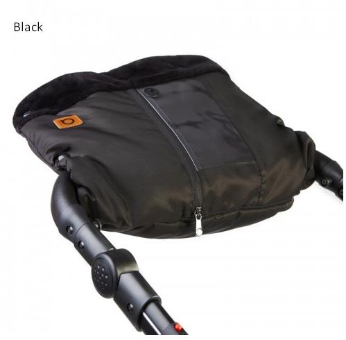 Муфта сплошная для коляски Anex (black)