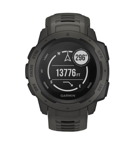 Смарт-часы Garmin Instinct Graphite (010-02064-00)