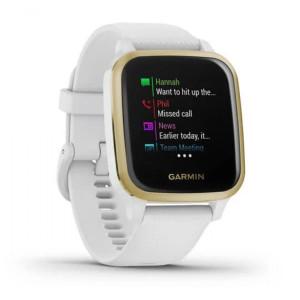 Смарт-часы Garmin Venu Sq White/Light gold (010-02427-11)